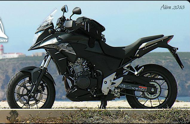 Honda CB 500 X ha vinto il 1° Trofeo Moto più Economica 2015