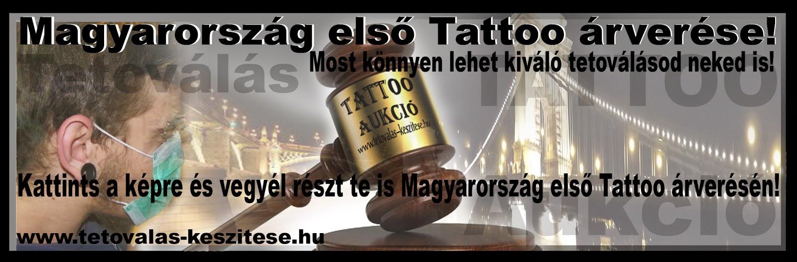 Tetoválás árverés