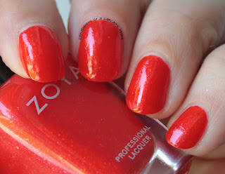 Zoya Paradise Sun Collection swatch of Aphrodite