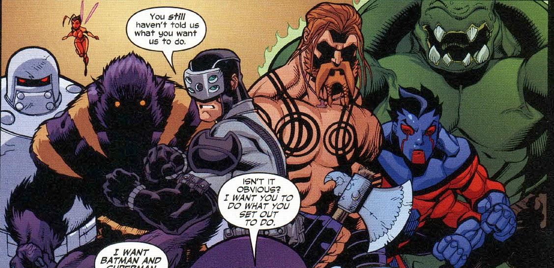 Ausmalbilder Marvel Helden Angel: DC Klaut Bei MARVEL