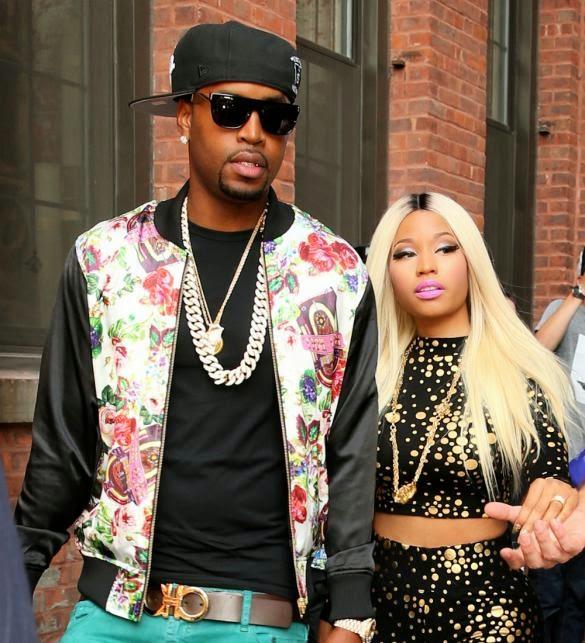nicki minaj and safaree samuels have reportedly split after more than    Nicki Minaj And Safaree Fight
