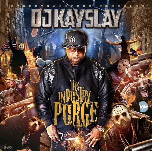 DJ Kay Slay - The Industry Purge Mixtape Cover