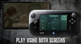 Playing Resident Evil: Revelations on TV with map on Wii U GamePad
