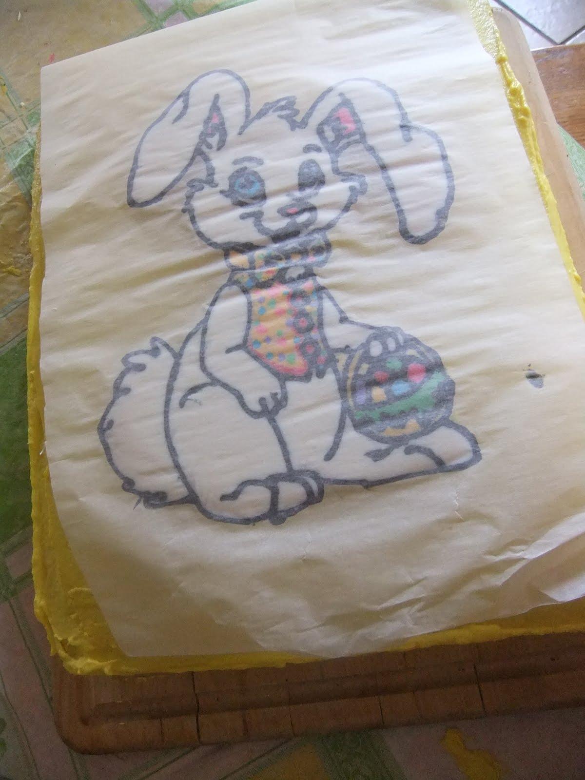 Cake Decorating Frozen Buttercream Transfer : Cakefullness: Frozen Buttercream Transfer Tutorial