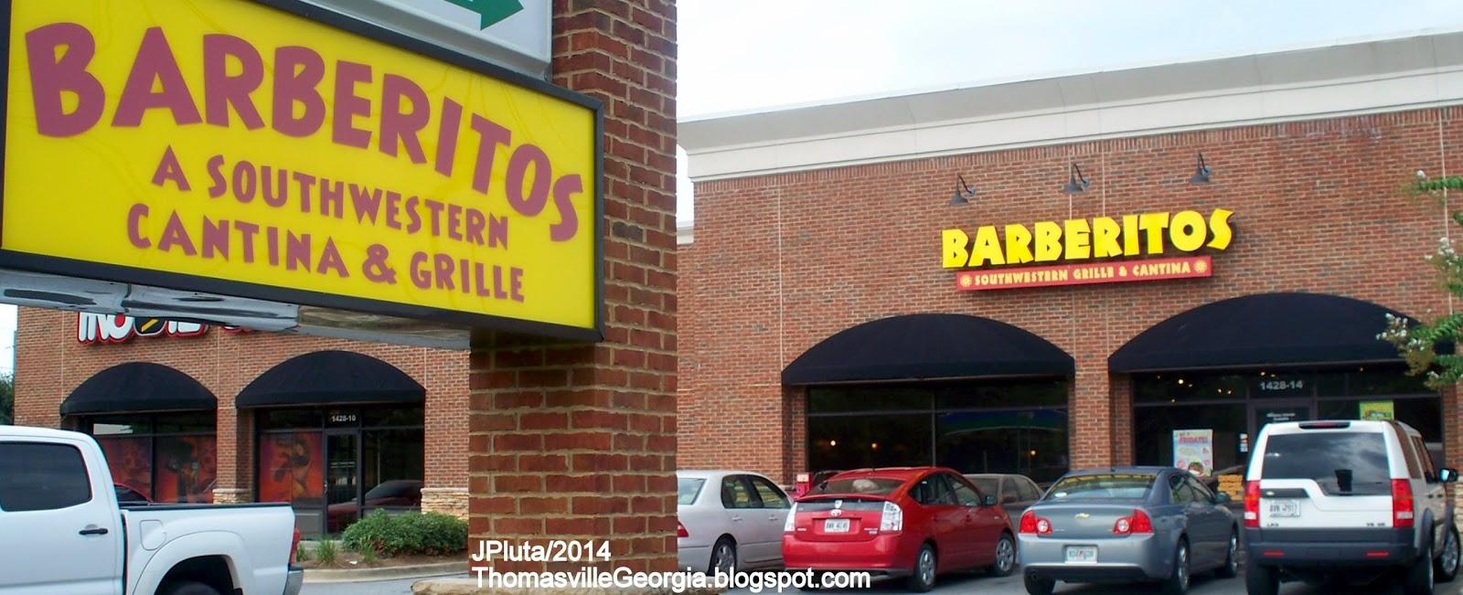 Barberitos : ... Barberitos Southwestern Cantina & Grille Restaurant BARBERITOS