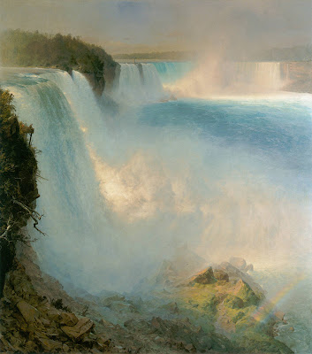 Frederic Edwin Church Niagara Falls from the American Side