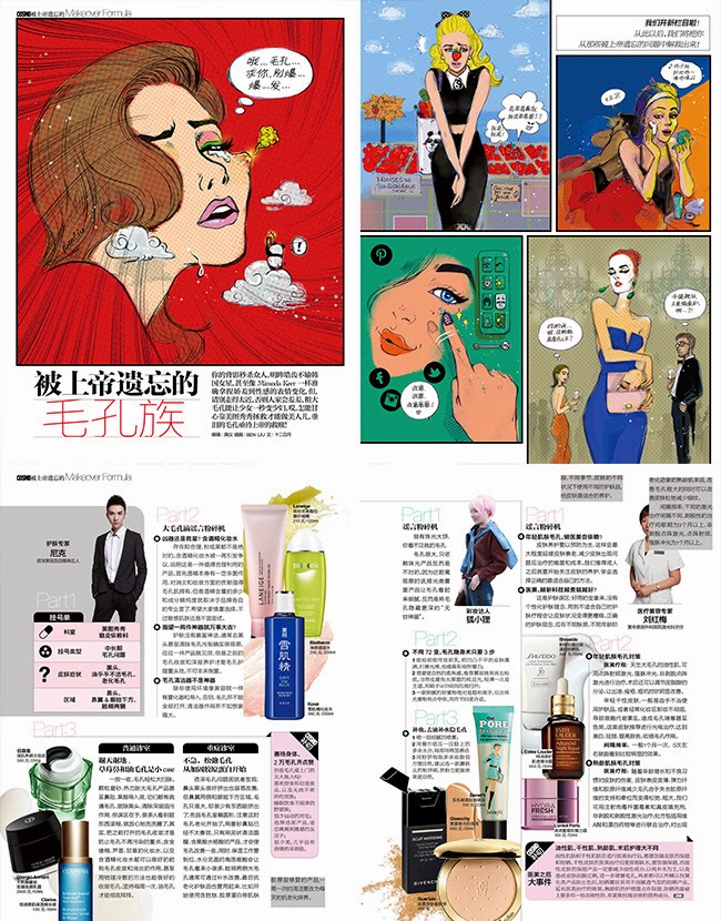 Ben Liu Cosmopolitan China - Big Pore