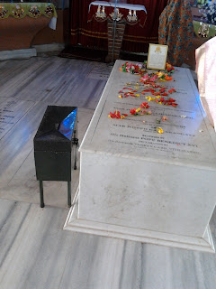 Tomb of Blessed Kunjachan at Ramapuram Church, Pala