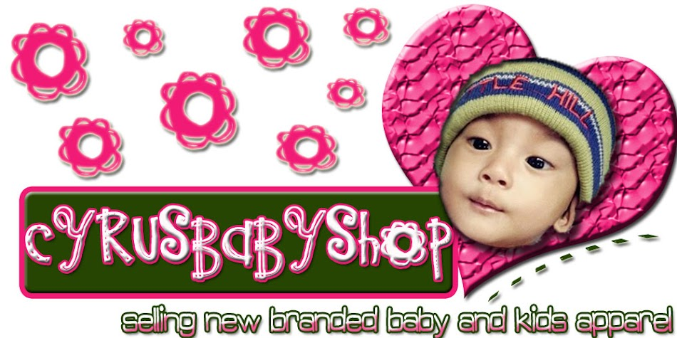 CyrusBabyShop © Baby and Kids Apparel
