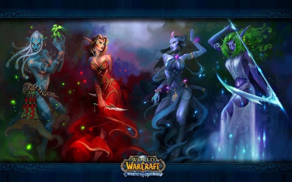 World of Warcraft HD & Widescreen Wallpaper 0.750272330943011