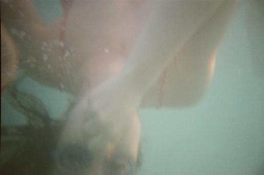 Reusable Underwater Lomo Camera Example Swimming