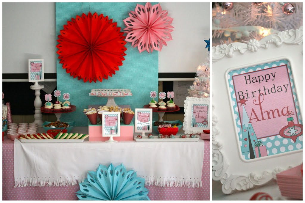 Wintery Surprise Party Shes Kinda Crafty