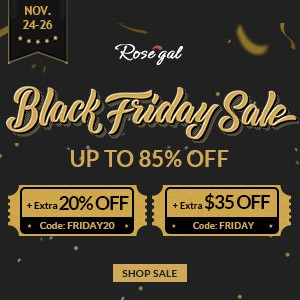 Rosegal Black Friday