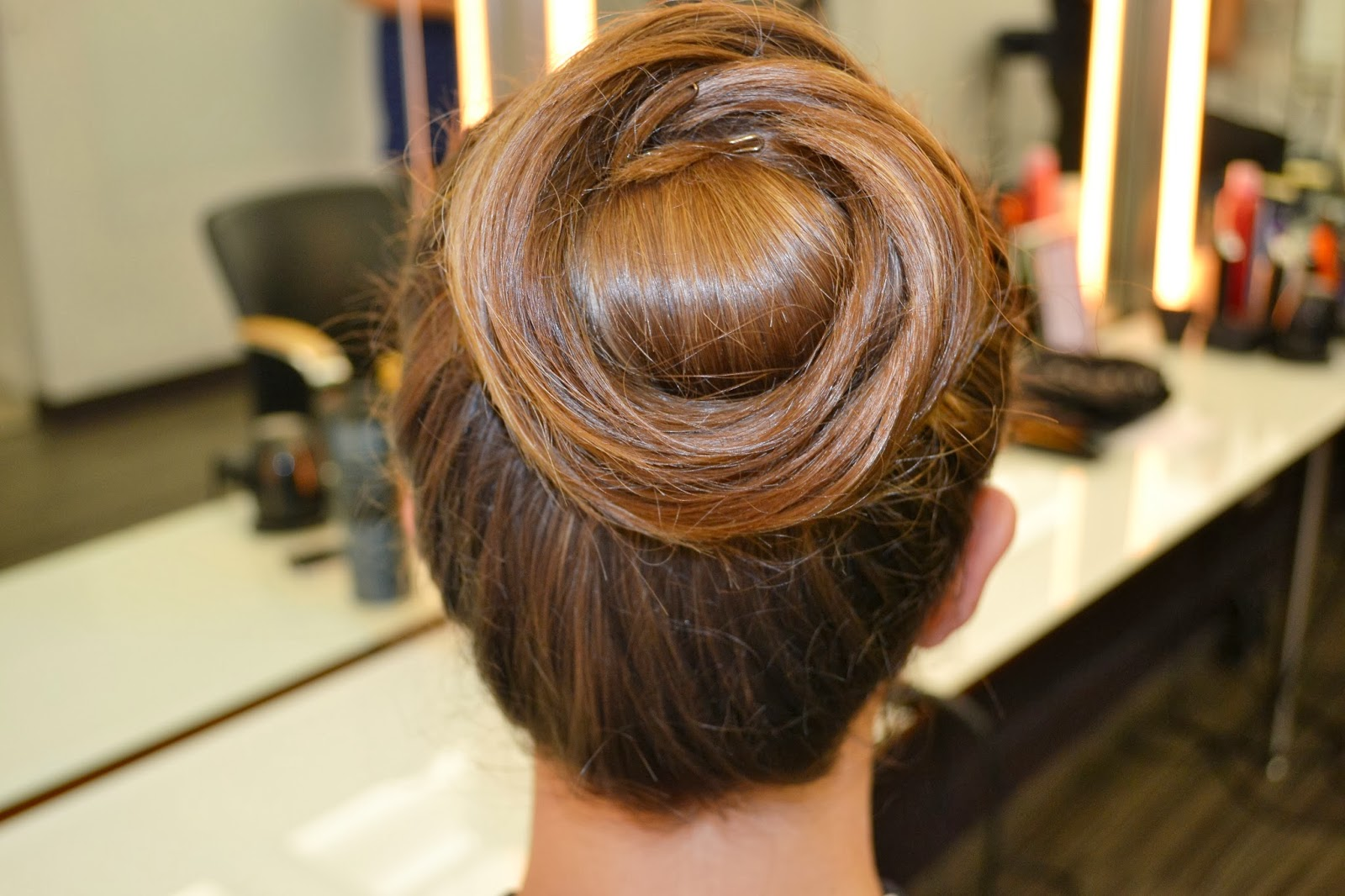 Cinnabun. I Received This Fun Hair Style ...