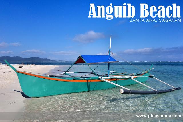 boat docked at Anguib Beach of Santa Ana, Cagayan