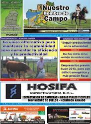 PORTADA DE NUESTRO HOMBRE DE CAMPO DE SETIEMBRE DE 2012