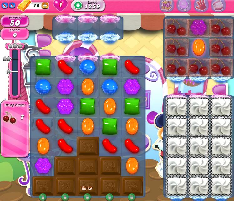 Candy Crush Saga 1259