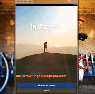 Instagram Pada Laptop