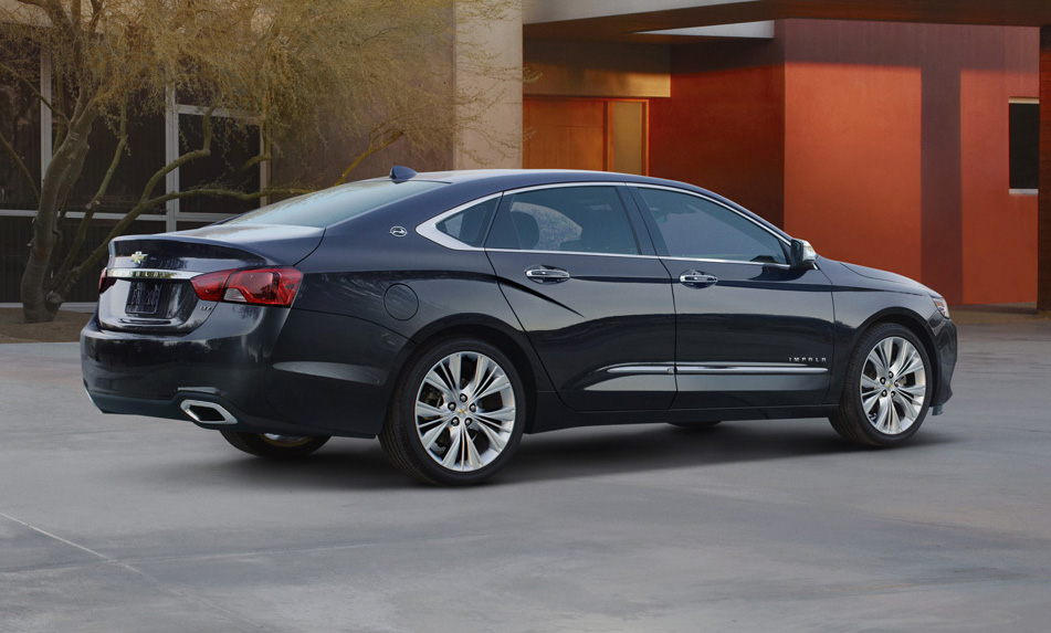 2014 Chevy Impala Re-Designed