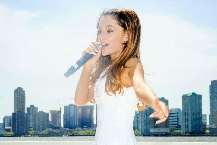 Ariana Grande: 2014 Born Free Africa Mothers Day Family Carnival