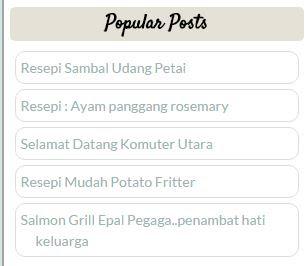popular post, entry terbaik, resepi ringkas, sambal udang petai
