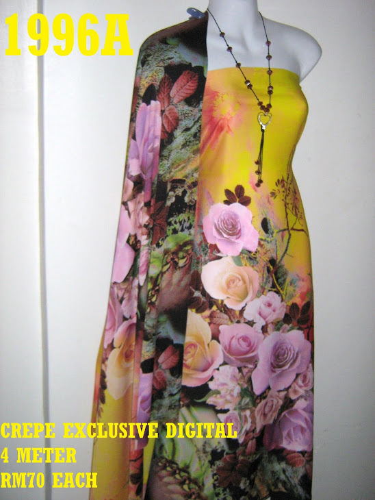 CP 1996A: CREPE EXCLUSIVE DIGITAL PRINTED, 4 METER