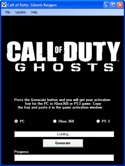 call of duty ghosts steam keygen download