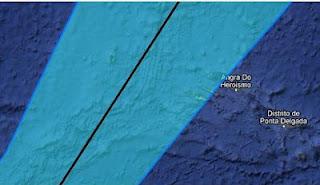 Tropischer Sturm NADINE wird schneller - jetzt Tropical Storm Warning Azoren, Nadine, Azoren, aktuell, Sturmwarnung, Vorhersage Forecast Prognose, Zugbahn, Verlauf, Oktober, 2012, Atlantische Hurrikansaison, Hurrikansaison 2012,