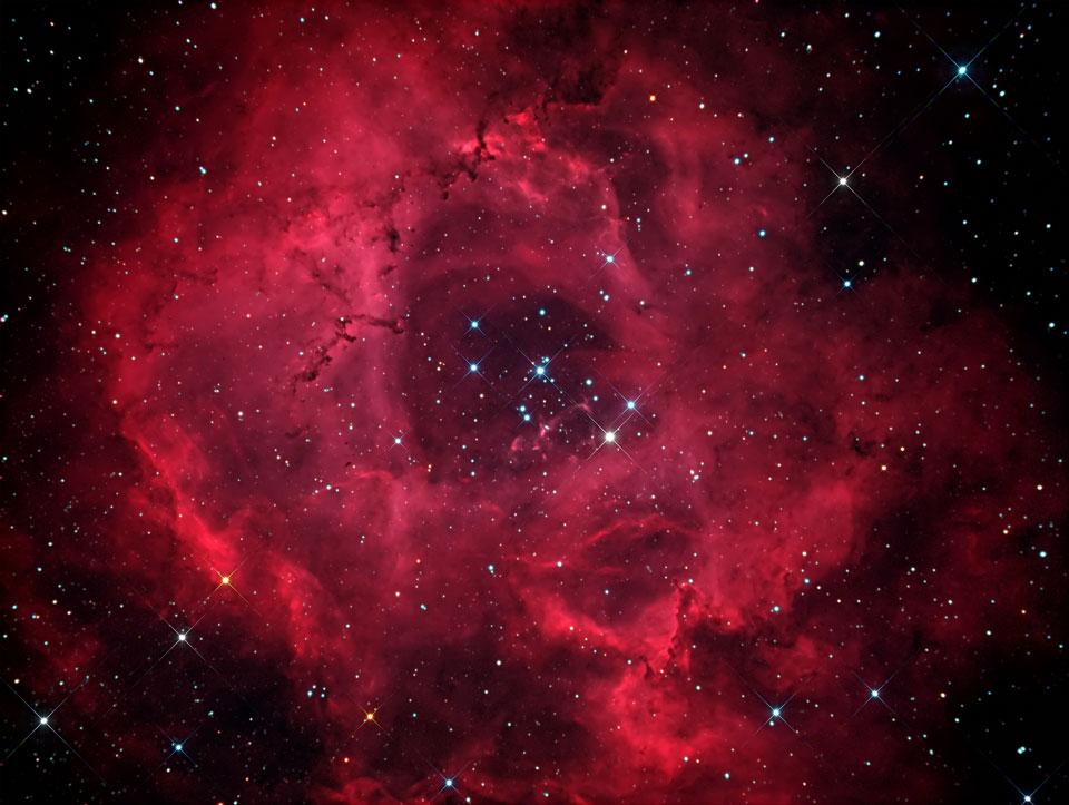 Image result for Rosette Nebula, Caldwell 49