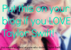 I love Taylor Swift!