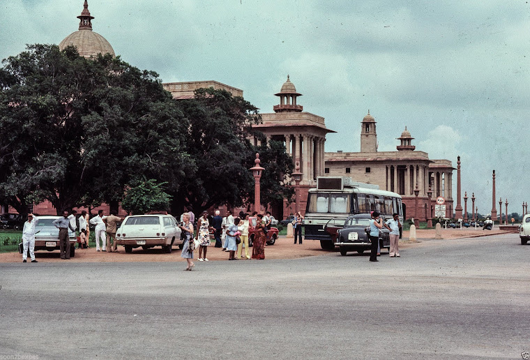 Rashtrapati Bhavan (Official home of the President of India) - New Delhi 1977