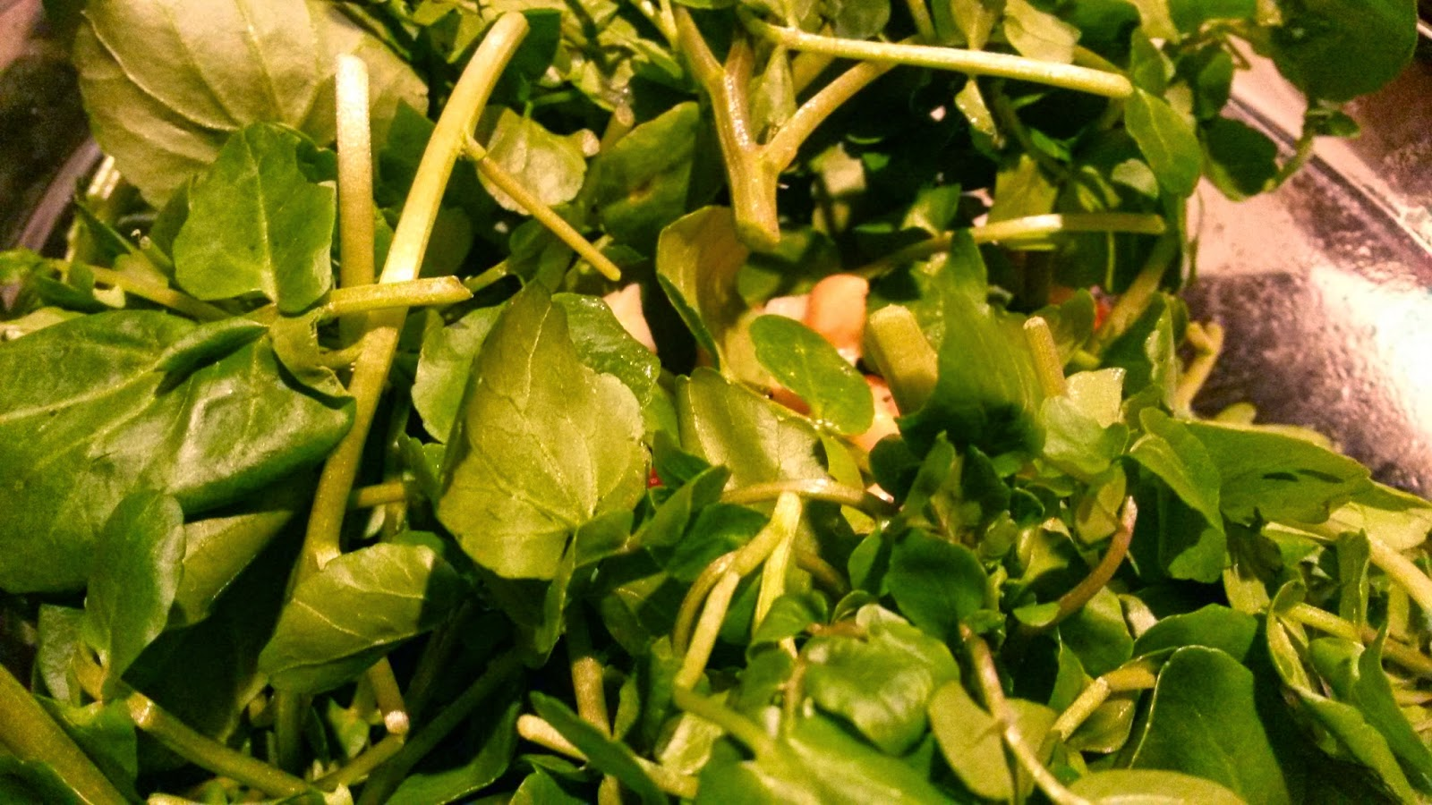 The Delightful Watercress for Roasted Scallop Salad