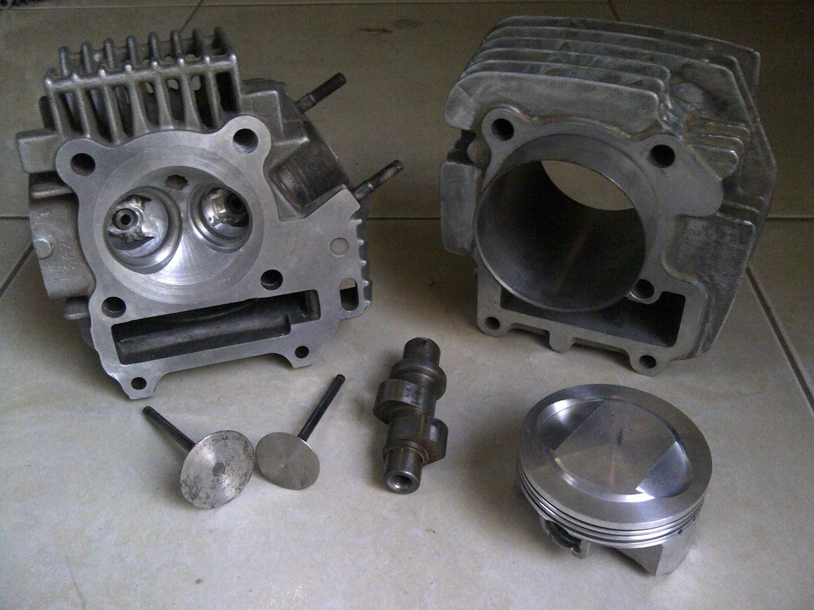 repair manual collection: tune up jupiter 200cc
