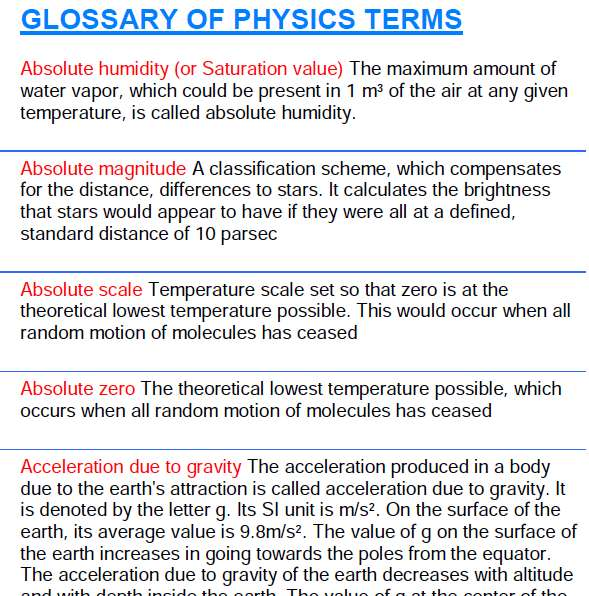 have at least one other person edit your essay about physics term physics term