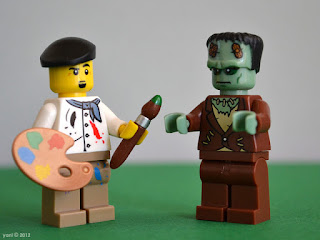 lego - fractured tales - the monster and the artist
