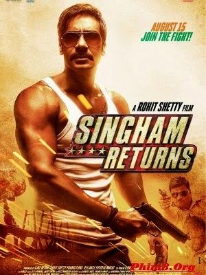 Chàng Cảnh Sát Singham Trở Lại - Singham Returns (2014)