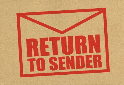 how to stop undelivered mail returned to sender outlook