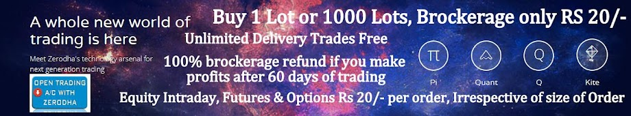 Click the banner, Open Demat and Trading account. Just 20 INR Per order.