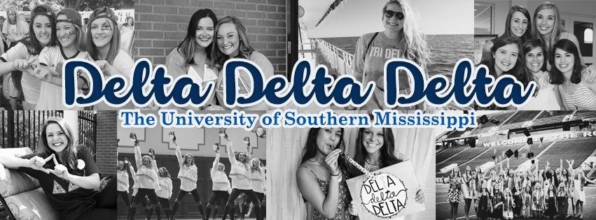 Delta Delta Delta at Southern Miss