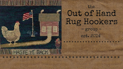 the Out of Hand Rug Hookers Group