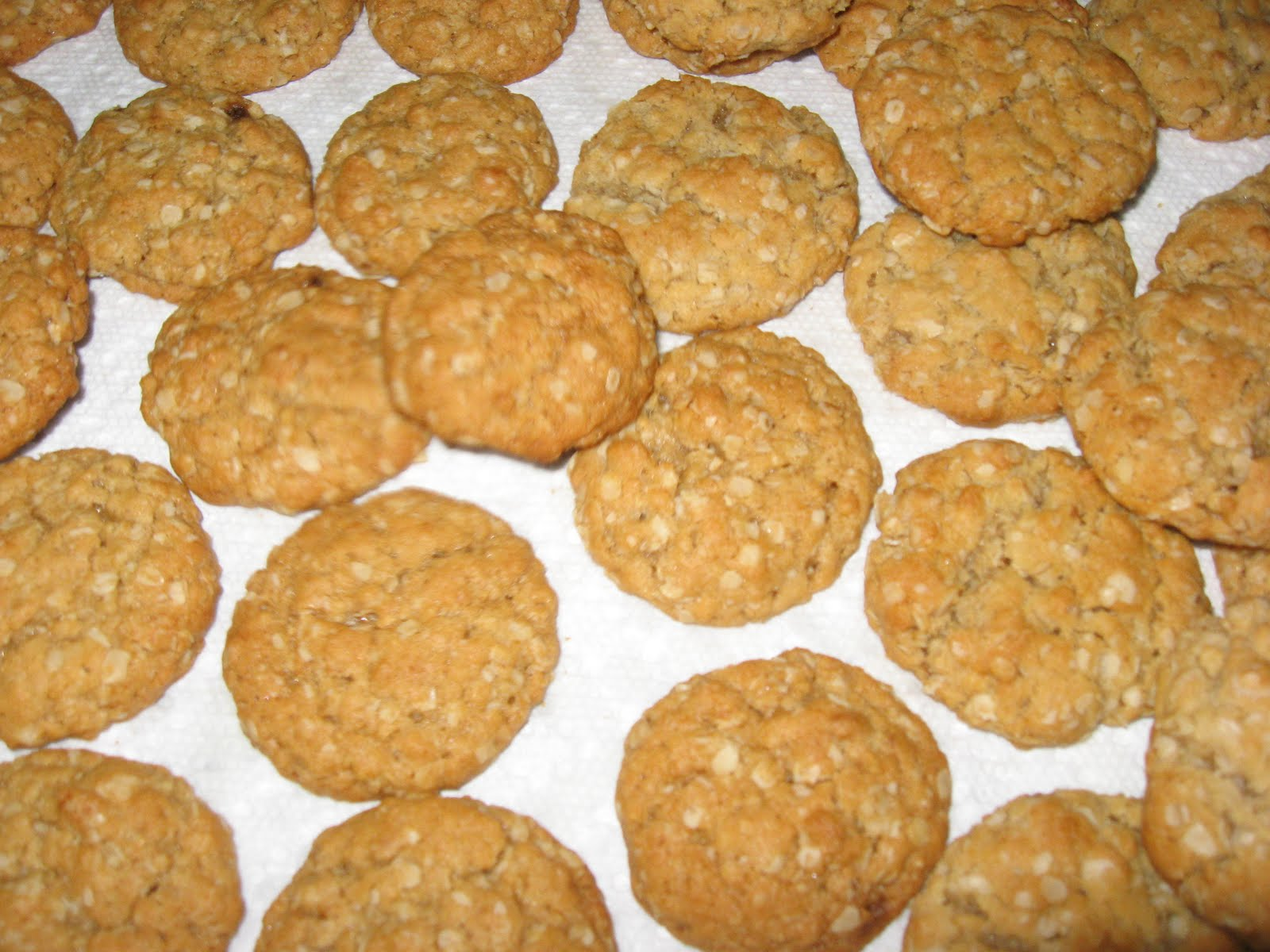 Today I made a batch of Mom's Poor Man's Cookies. These cookies were ...