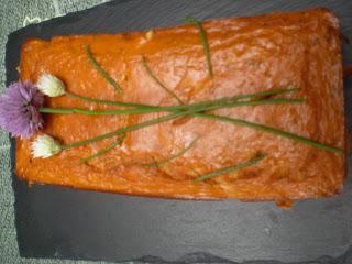 Pain de thon à la santoline verte