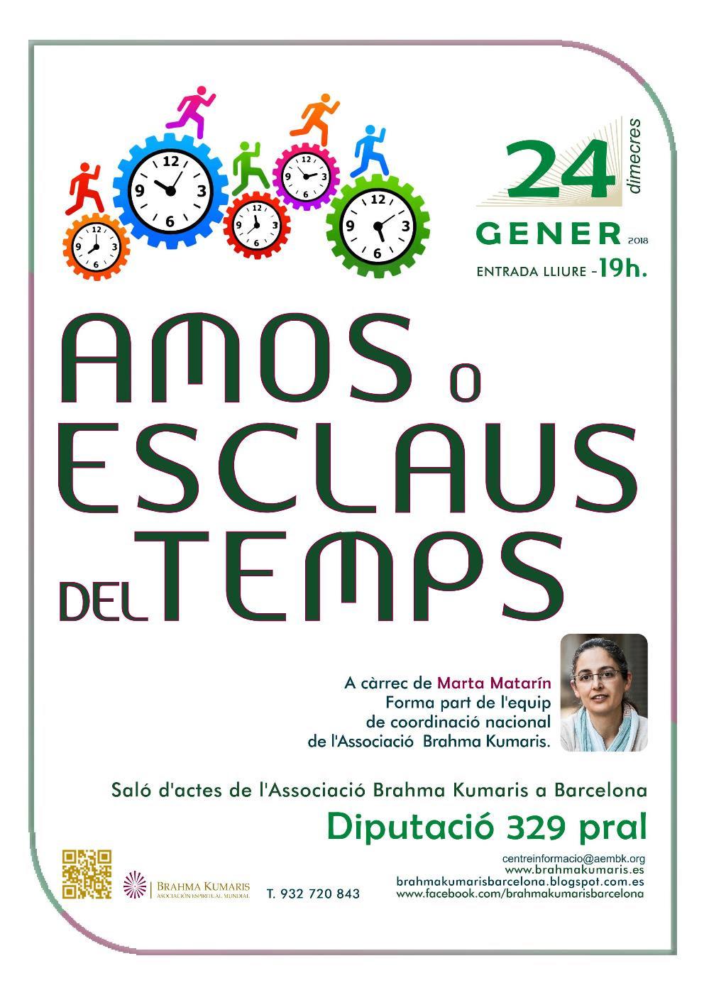 AMOS O ESCLAUS DEL TEMPS-24 DE GENER