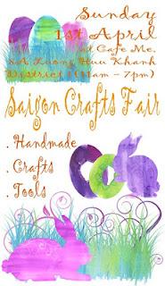 Cây pha lê Cát Tường tham dự SaiGon Crafts Fair April CayPhaLe.com