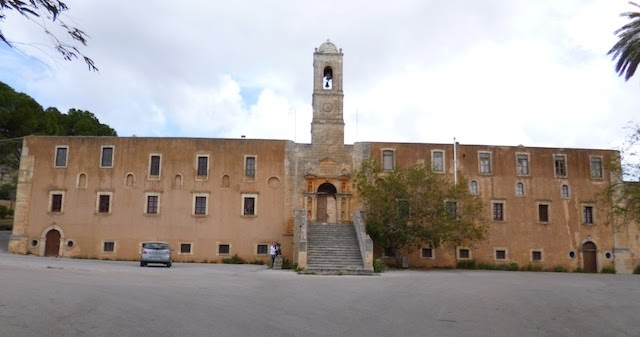 Zombie Parents Guide: Monasteries in Chania, Crete