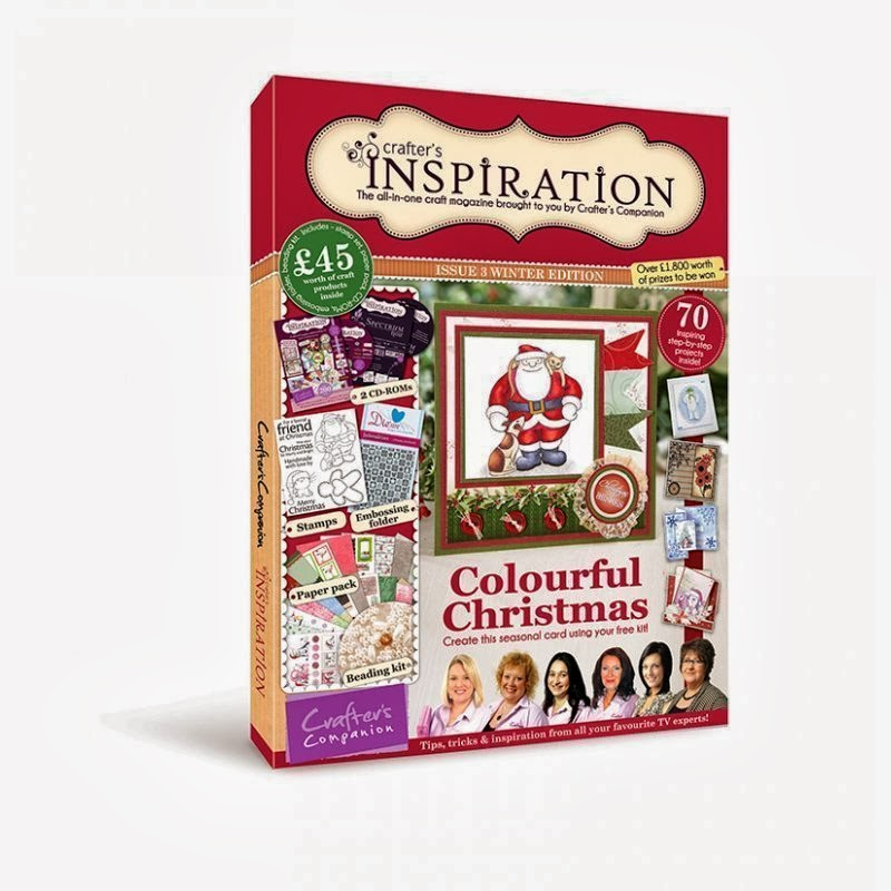 Proud to have been published in Crafters Inspiration Magazine issue 3