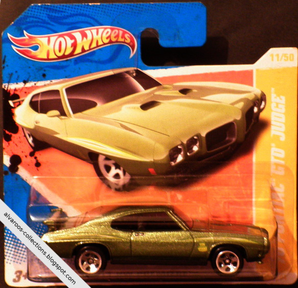 Hot Wheels:  Pontiac GTO Judge