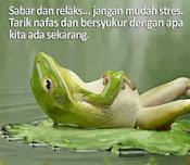 Sabar dan Relaks..