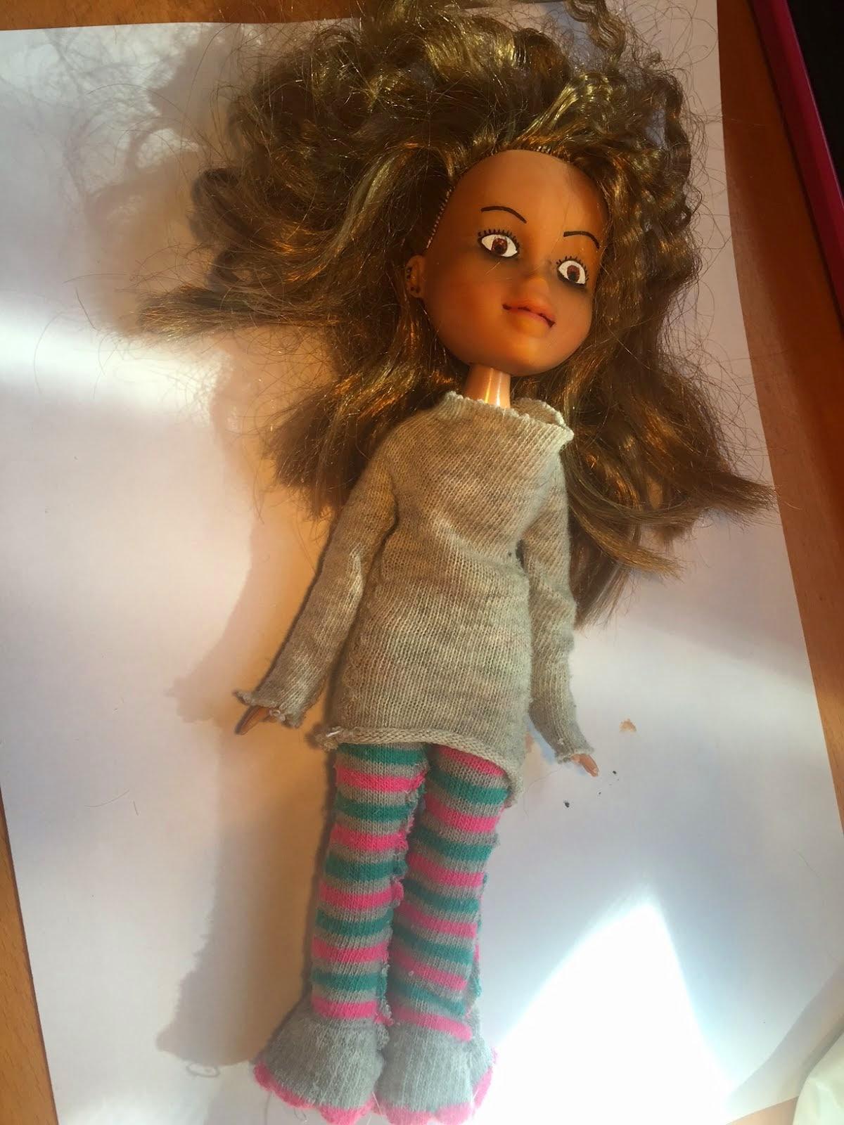 Muñeca con cara real