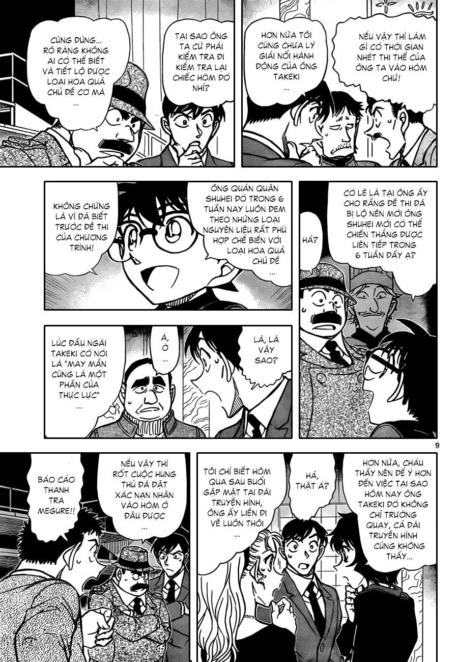 011, Thám tử lừng danh Conan chap 845    NarutoSub
